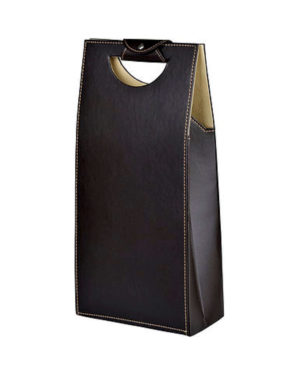Folding Double Wine Tote