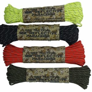 Tactical 100ft Reflective Paracord