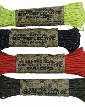 GSI Tactical 100ft Reflective Paracord